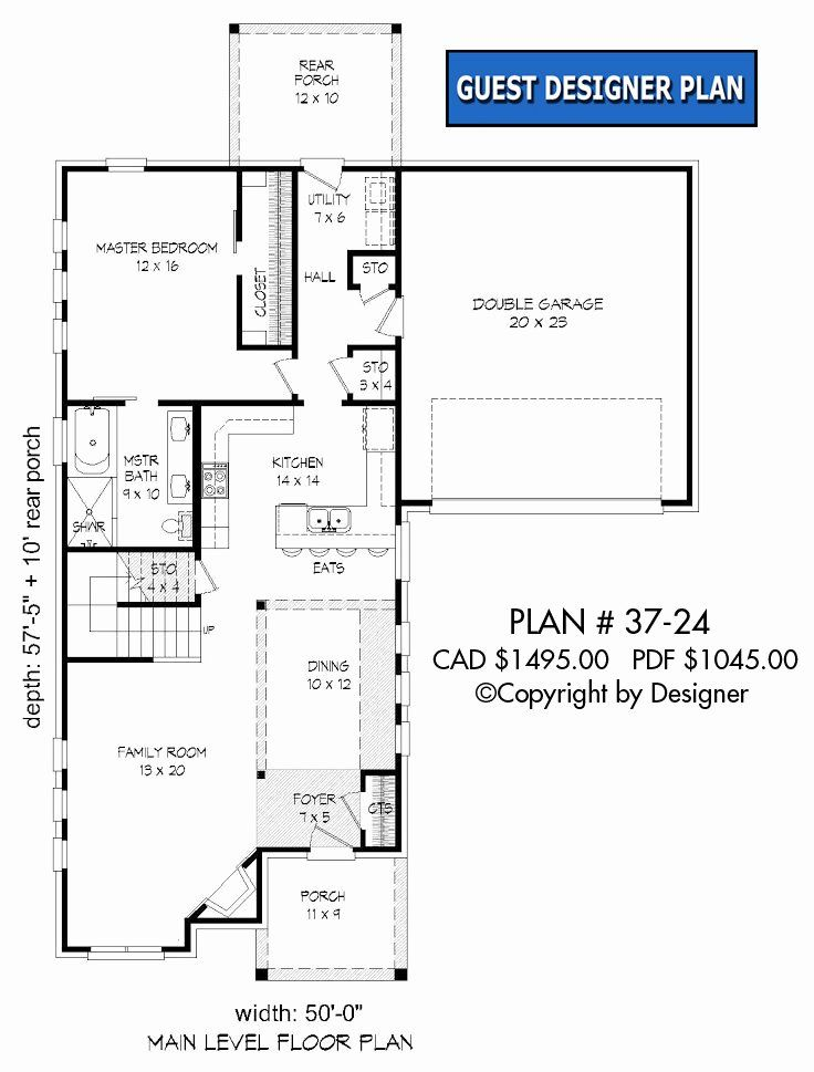 12 X 24 House Plans Lovely House Plan 37 24 Vtr In 2020 Unique House Plans My House Plans Two Story House Plans