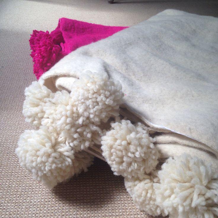 Prachtige handgemaakte wollen dekens! Dit najaar bij SMiLe!