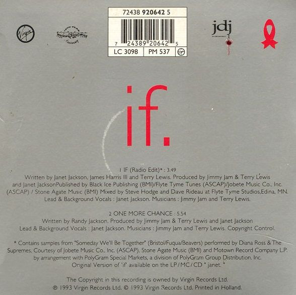If - Janet Jackson (Album: janet. / 1993)