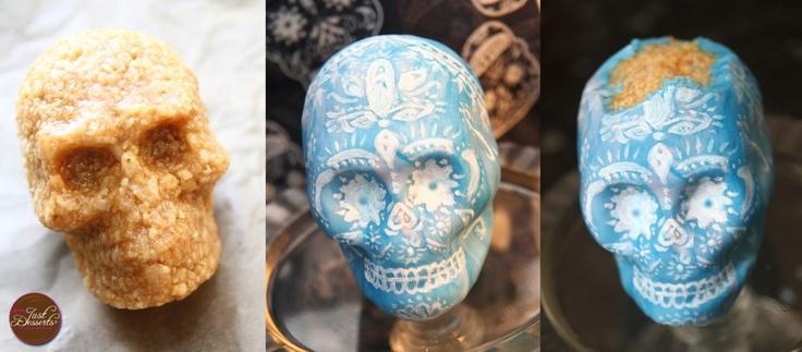 We love this Rice-Krispy-Treat-Sugar-Skull Jen's Just Desserts made ...