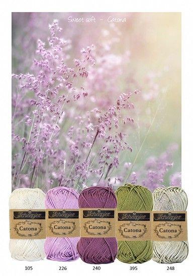 Kleurenpallet Catona - Color Yourlife - Sweet Soft HobbyVision- (web)winkel voor scrappen, kaarten en meer!