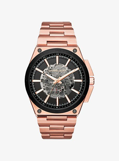 Wilder Automatic Rose Gold-Tone Watch