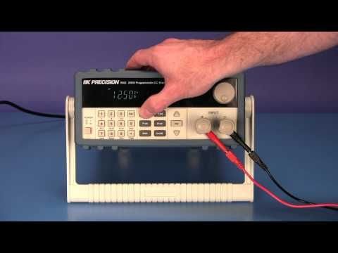 Battery Amp-hour Discharge Test Using an 8500 Series DC Electronic Load