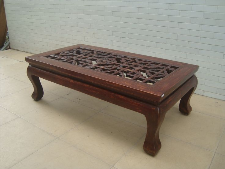 Beautiful Antique Chinese Coffee Table