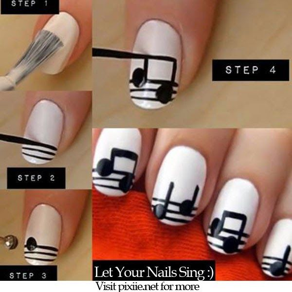 CREATIVE DO IT YOURSELF NAIL DESIGNS!     Nowadays, it is very common that we can see glorious, spectacular, shinny and bubbly nail art ...