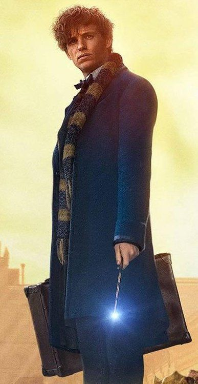 Newt Scamander is clever, cheeky, kind, loyal and completely adorable. We don't know whether we love him, or just want to be him...