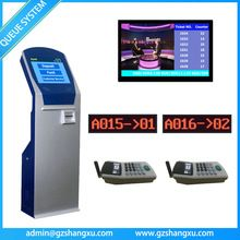 Customer Service Counter LCD Display Queuing Token Number Ticket System