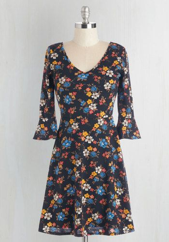 Fab Florals Dress, @ModCloth
