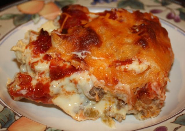 """A few weeks ago I found an enchilada casserole recipe that I hadn't made in a long time. I marked the recipe as """"good"""" so I thought I'd try…"""