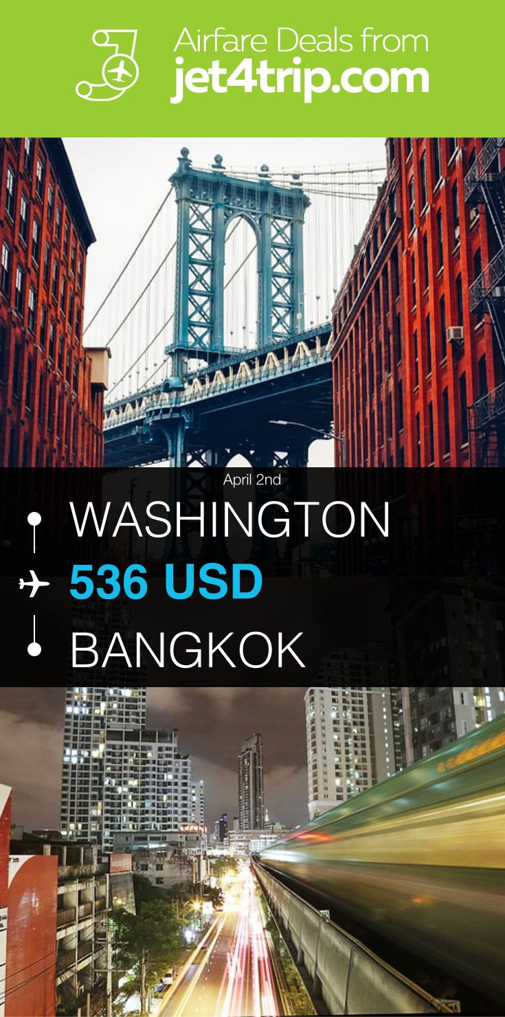 Flight from Washington to Bangkok for $536 by United Airlines #travel #ticket #deals #flight #WAS #BKK #Washington #Bangkok #UA #United Airlines