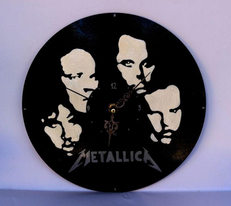 """Ceas+perete+:+""""Metallica"""""""