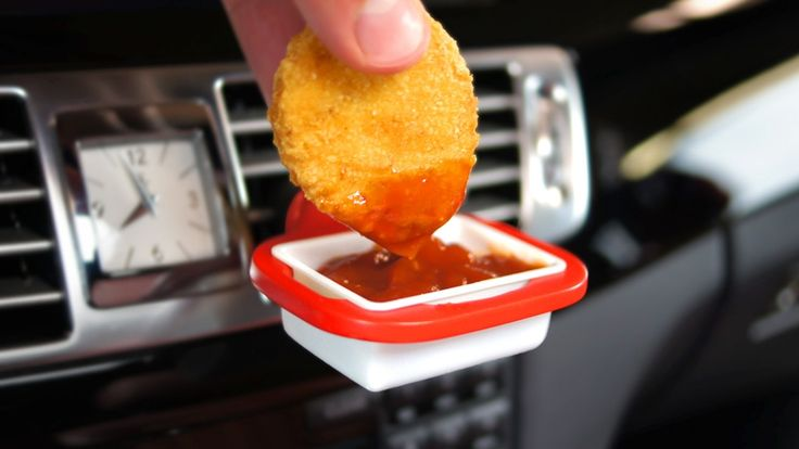 DipClip: An in-car holder for ketchup & dipping sauces project video thumbnail