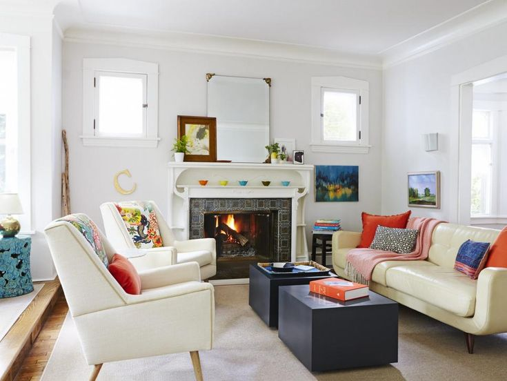 Easy To Imitate Decorating Ideas Eclectic Living RoomCozy