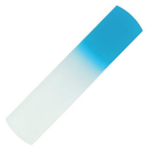 Color Glass Foot File, All in One: Foot Scraper & Callus Remover, H/M in CZ