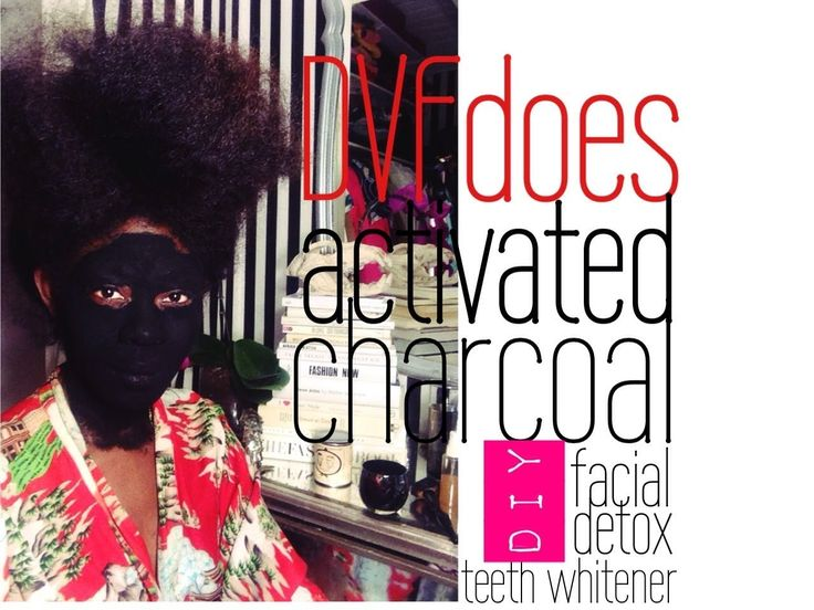 DVFdoes | DIY Activated Charcoal Detox Facial Mask For Acne And Scars
