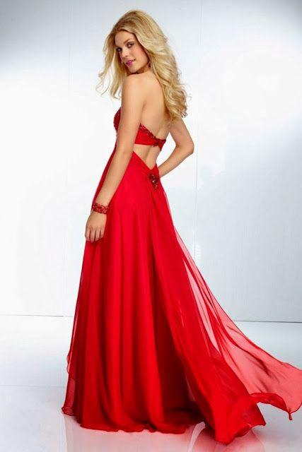 Vestidos de Fiesta de color Rojo - Espectaculares !