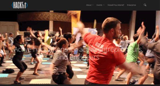 サンフランシスコにいるときに教えてもらったプログラム。 Hackfitではいわゆるハッカソンを提供しているのだが、公式プログラムにフィットネスも取り入れている点がユニークだ。 コードもかくが、汗もかこう、健康的にいこうじゃないか、というメッセージに好感が持てる。 フィットネスプログラムにはヨガやボルダリング、ダンス教室などがあるようだ。 一緒に運動すれば仲良くもなるだろうし、わりといいかと思うのだがどうだろう。日本でもこういうのがあってもいいかもですな。