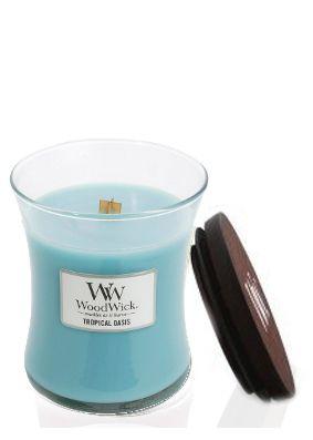 Woodwick Tropical Oasis Medium Jar Candle