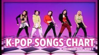 K-POP SONGS CHART   DECEMBER 2018 (WEEK 1)   K-Pop Music   Pop songs