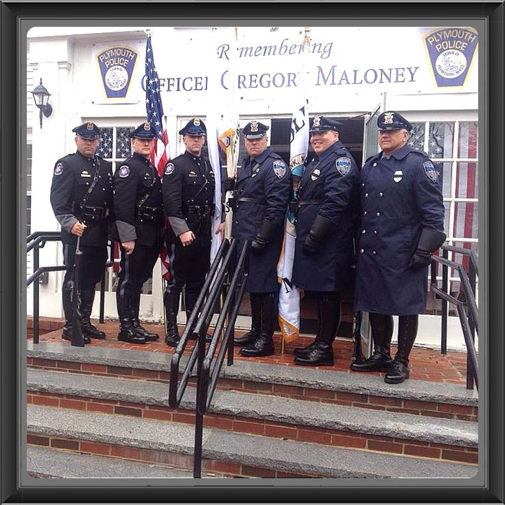 Massachusetts FOP a Honor Guard with Seekonk