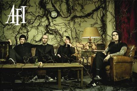 AFI will always have a special place in my heart <3 and random info, i have this poster in my room haha