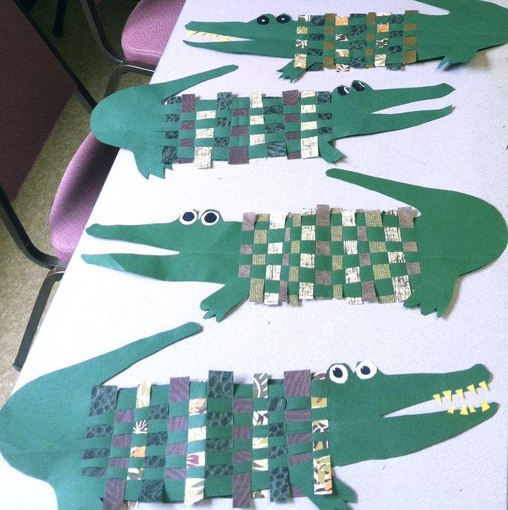 Weaving with Crocodiles