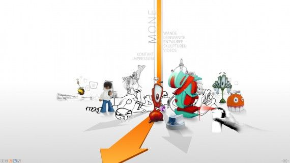 Website Portofolio Terbaik dengan Desain Keren - M-1 Design