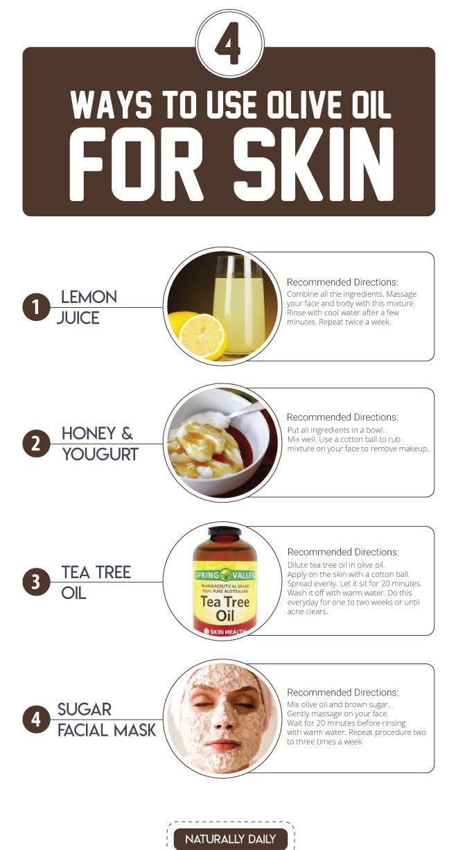 olive oil for skin health boost (how to use) (with images