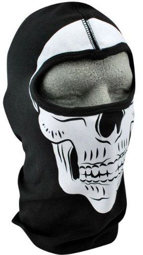 ZANheadgear Cotton Skull Balaclava by Zanheadgear. Save 26 Off!. $11.06. This 100 per cent cotton, low profile Balaclava is non-bulky and easy to store. It has skull design. It fits snugly under helmets and is thick enough to withstand bugs, wind and other extreme weather conditions while protecting the head, ears and mouth. One size fits most.