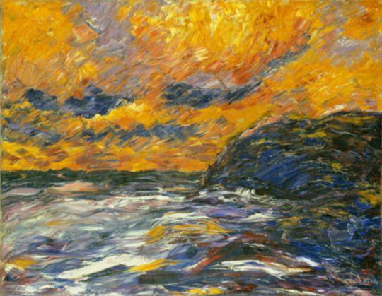 Autumn Seascapes , Emil Nolde German 1867-1956 Autumn Sea ...