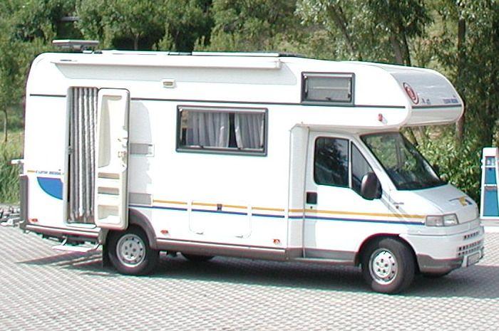 Wohnmobilstellplatz am Badeweiher 91596 Burk Telefon: 09822/7429 | Romantisches Franken.   Von Wohnmobilvermietung Janosch, http://www.janremo.de, empfohlen.