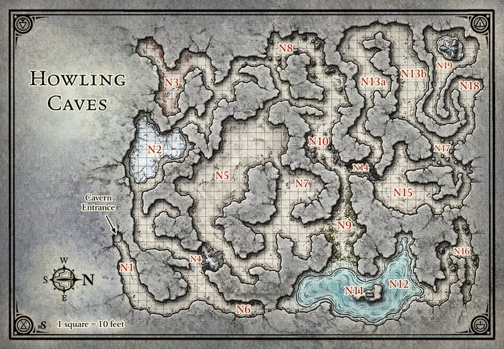 Princes of the Apocalypse; Howling Caves (Digital DM & Player Versions)