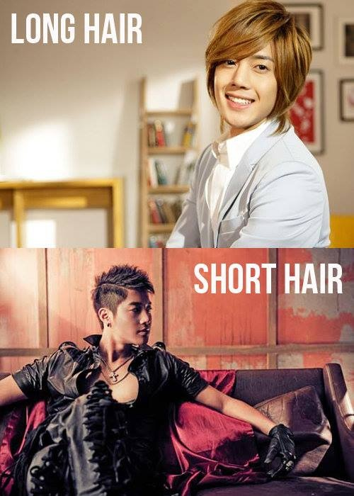 Kim Hyun Joong has drastically changed his hair since his Boys Over Flowers and Playful Kiss days!  Which do you like better? Long xD