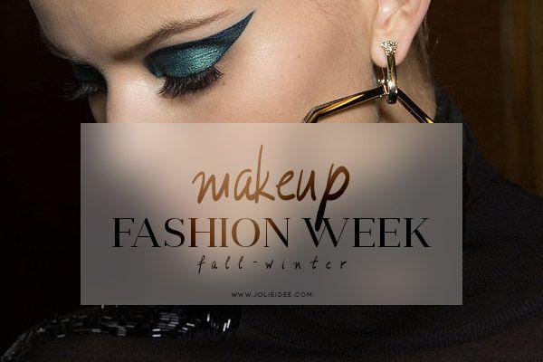 Makeup Autunno Inverno 2014-15 – Fashion Week #fashionweek #makeup #moda #fallwinter #trend #musthave