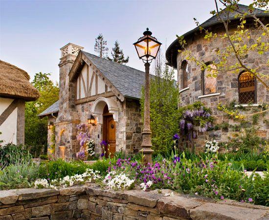 English Tudor Exterior  www.lindafloyd.com