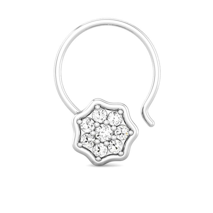Rukmani Diamond Nose Pin