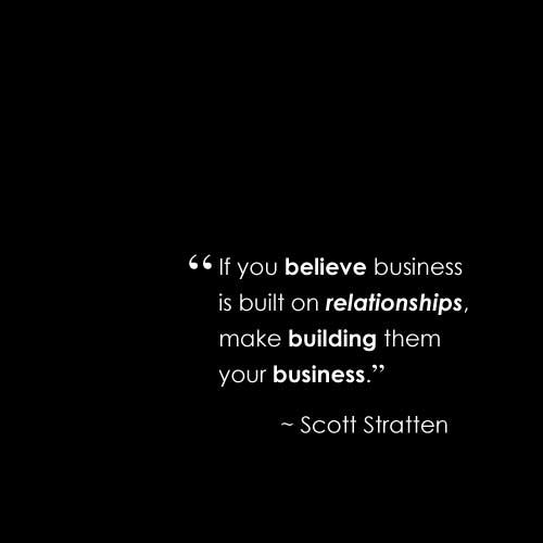 relationship building in business quotes