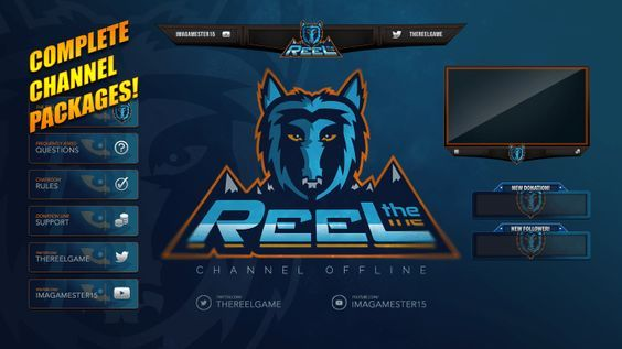 design Twitch overlays for your stream by mynameiismud