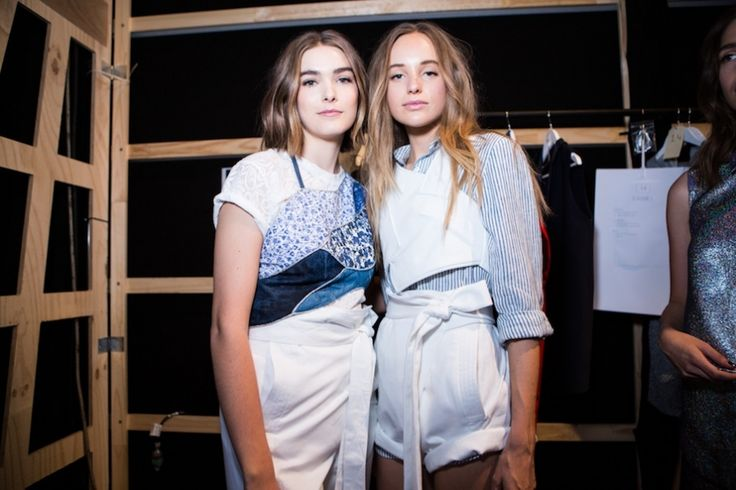 MBFWA 2015 day two: Backstage at Watson x Watson | Fashion Journal