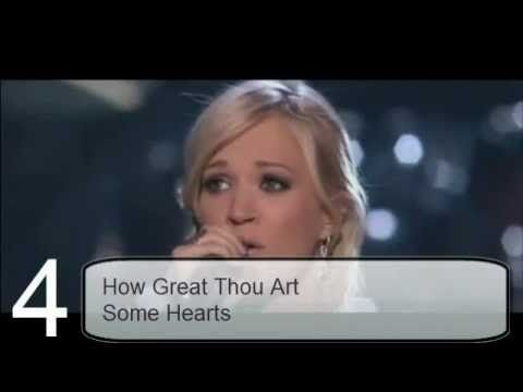 My Carrie Underwood Best Songs List: Songs That Inspires Me The Most!
