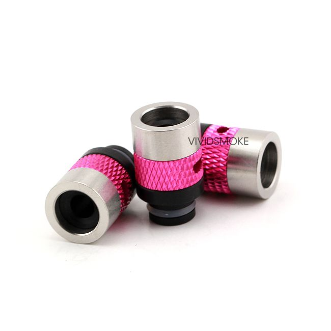 #whichecigarette Check out our reviews on http://www.whichecigarette.com/review-cats/premium-ecigarettes/    Flow Drip Tip [Pink]