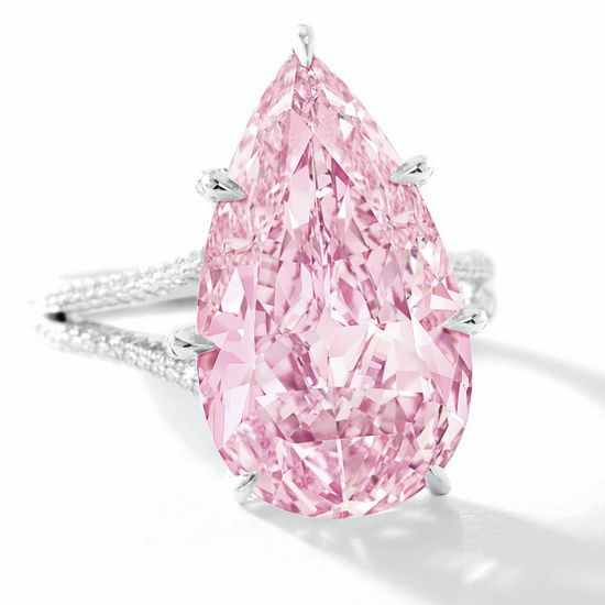 8.41 carat Vivid Purple Pink Diamond