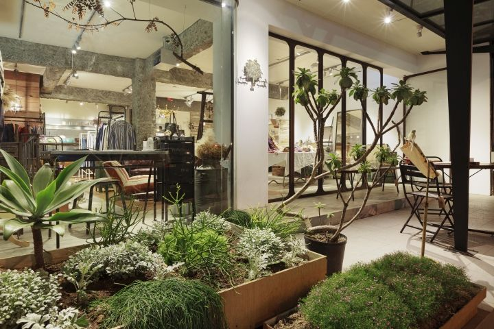 Fujin Tree 355 store by JSC design studio, Taipei – Taiwan