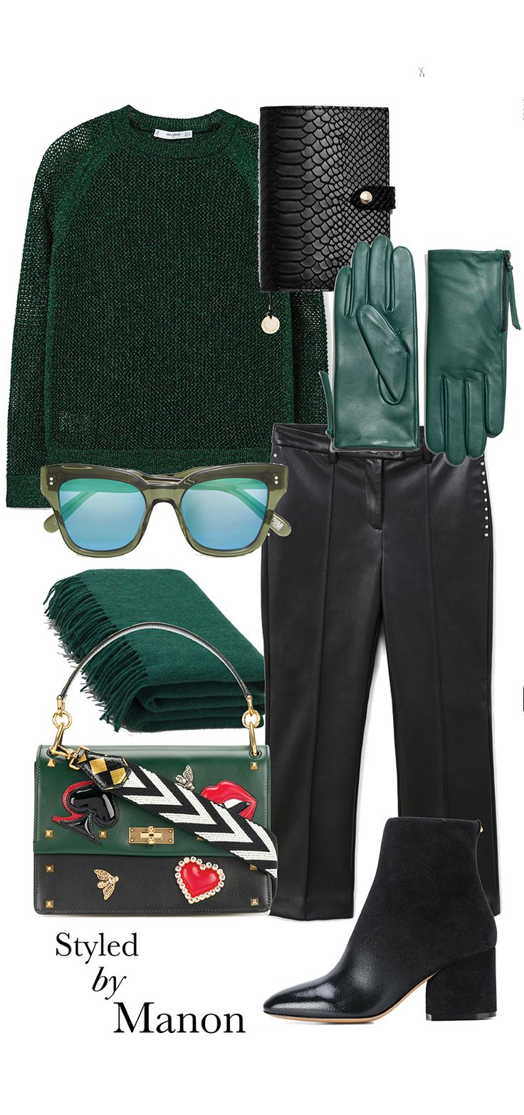 Green, color 2018, pantone color, outfit - Outfit Styled by Manon #whattowear