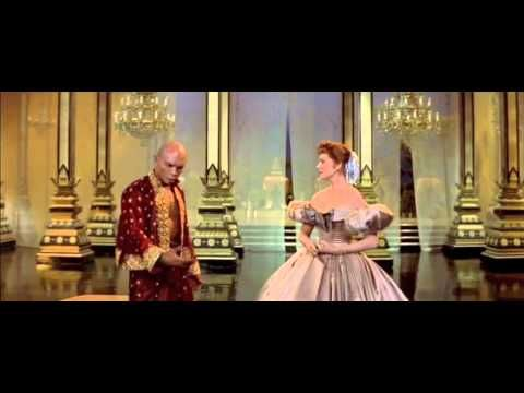 "Yul Brynner and Deborah Kerr perform ""Shall We Dance"" from the 1956 film version of ""The King and I."""