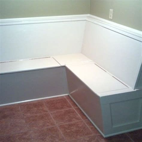 Handmade Built In Kitchen Bench Banquette Seating With Storage By Ambassador Woodcrafts Kitchen Corner Bench Seating Banquette Seating Banquette Seating Diy