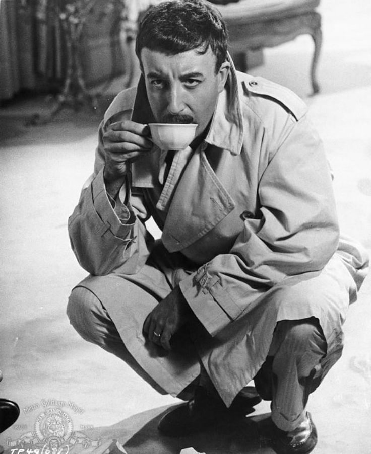 Peter Sellers...Inspector Clouseau