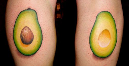 avocado tattoo - Google Search