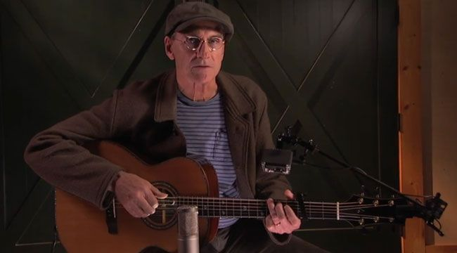 James Taylor--free guitar lessons