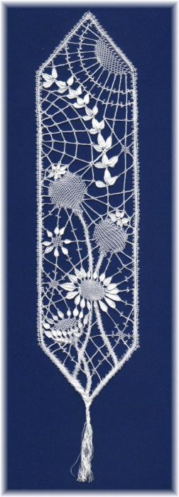 Bedfordshire #Lace bookmark